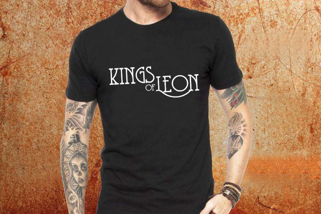6aded49c28fa Camiseta masculina Kings of Leon - ESTAMPARIA ROCK NA VEIA