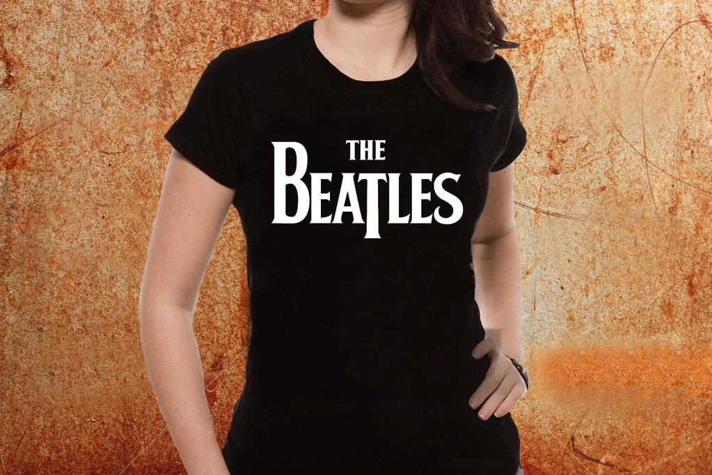 3f6ed4fc3a3 Camiseta feminina baby look The Beatles - ESTAMPARIA ROCK NA VEIA